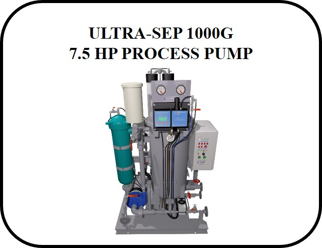 US1000G 7 5 HP PUMP